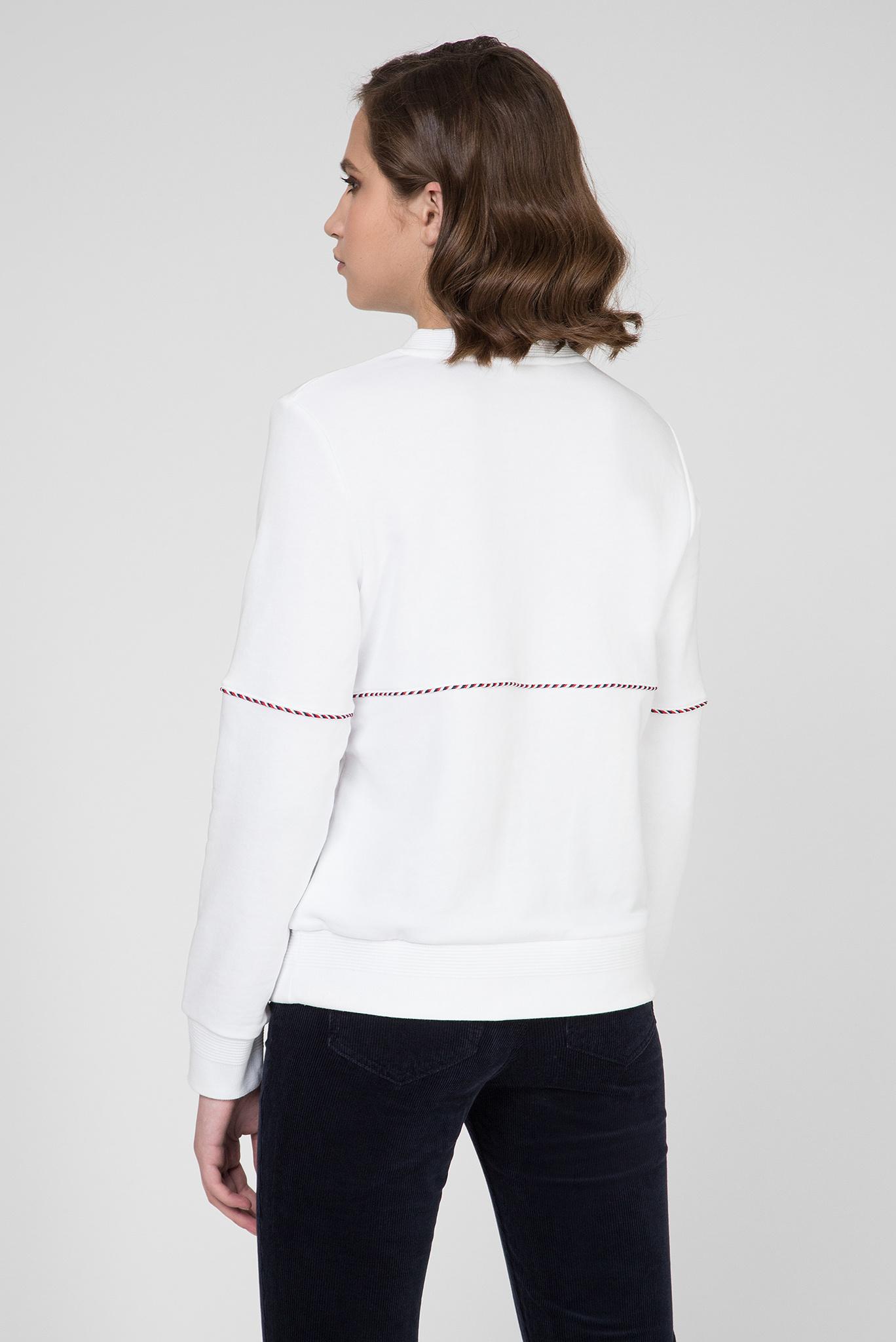 Женский белый свитшот PILAR C-NK Tommy Hilfiger