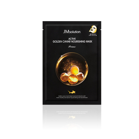 JMSolution Маска для лица с экстрактом икры и золота Active Golden Caviar Nourshing Mask Prime