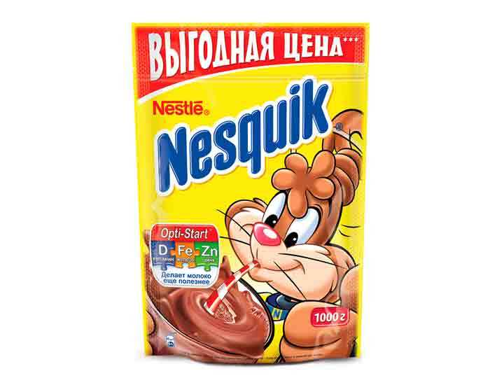 Какао Nestle Nesquik, 1 кг