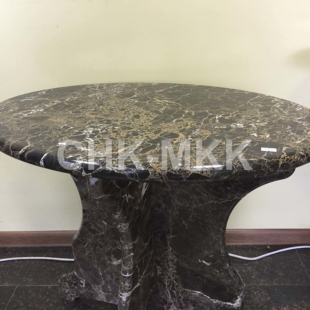 Столик из мрамора Имперадор Голд