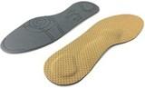 Ортостельки с двойным пяточным амортизатором для обуви на плоской подошве: балетки, слипоны, кеды