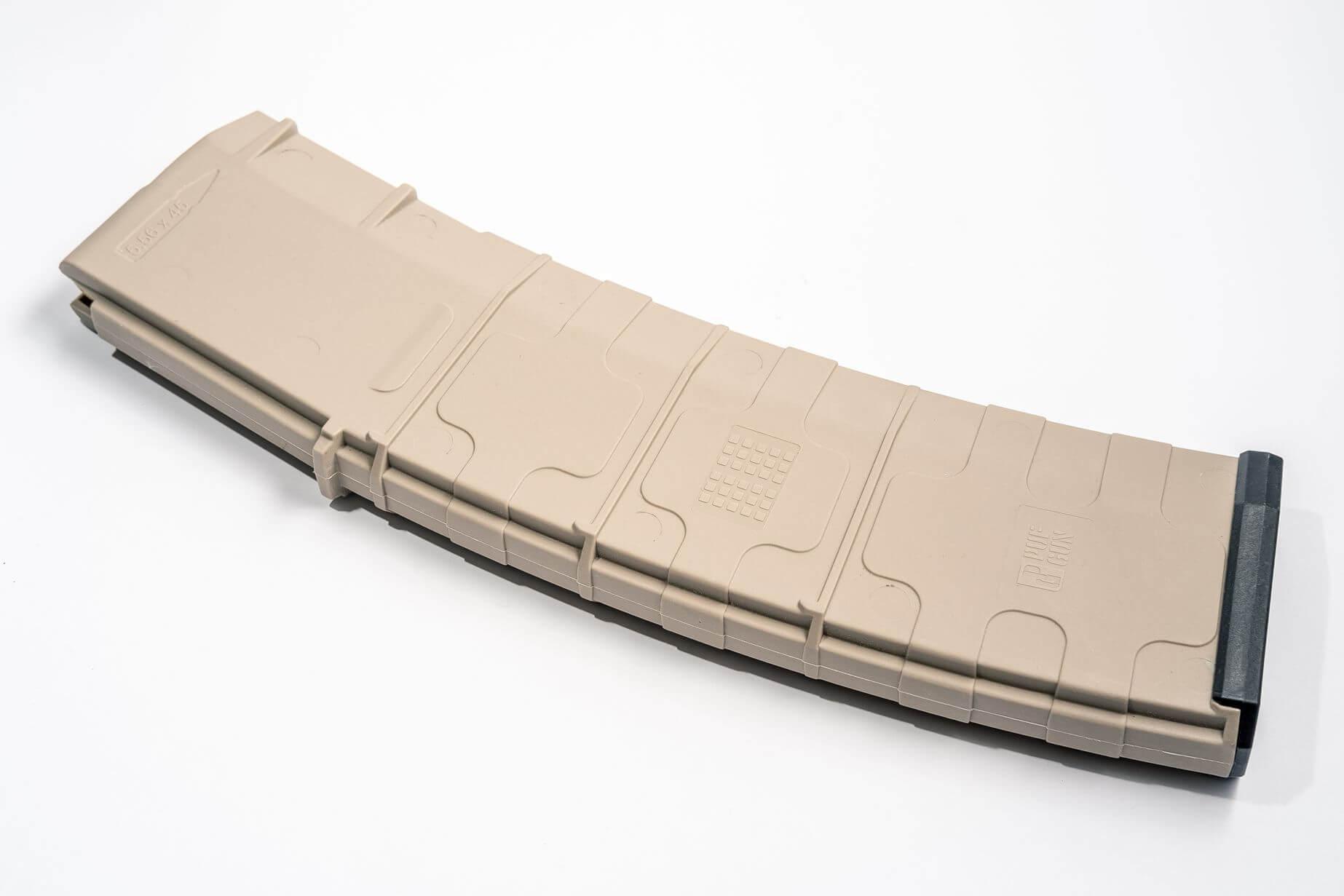 Магазин Pufgun для AR-15 на 45 патронов, песочный