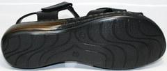 Кожаные босоножки Evromoda 15 Black.