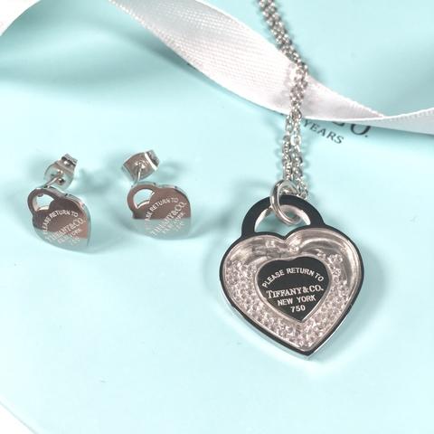 Комплект Tiffany (колье+серьги)