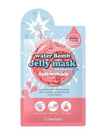 БР Маска на тканевой основе для лица с желе антивозрастная Berrisom water Bomb Jelly mask - Anti Wri