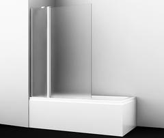 Шторка для ванны WasserKRAFT Berkel 48P02-110LM распашная левосторонняя, матовое стекло