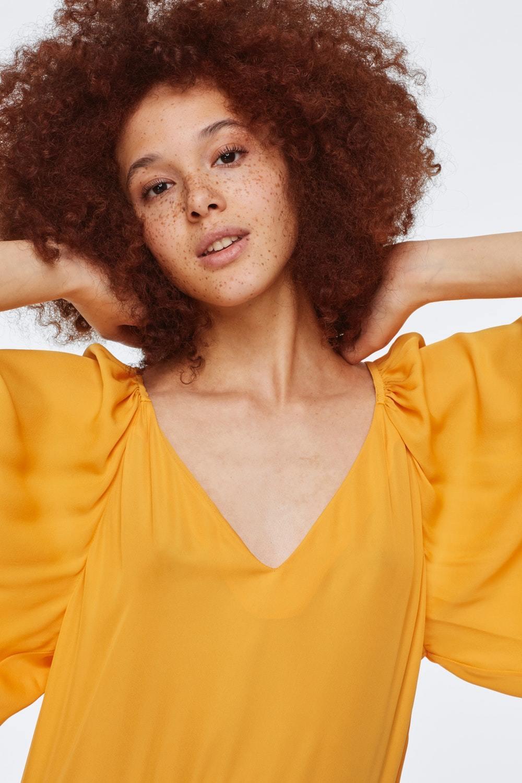 Dorothee Schumacher Платье шелковое свободное
