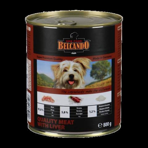 Belcando Quality Meat with Liver Консервы для собак с мясом и печенью
