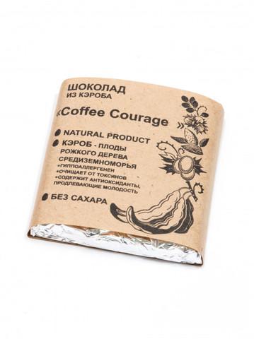 Шоколад из Кэроба Coffee Courage 50г Био Кухня Урожай