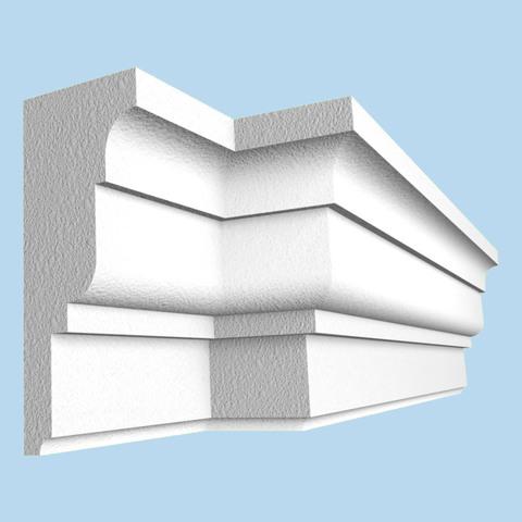 Карниз крыши из пенопласта