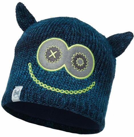 Вязаная шапка детская Buff Monster Merry Dark Navy фото 1