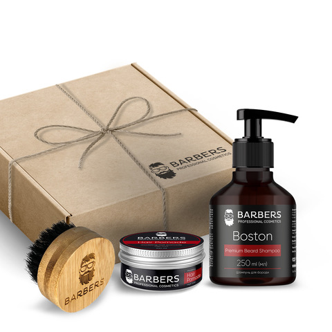Подарунковий набір для чоловіків Barbers Men's Grooming Set (1)