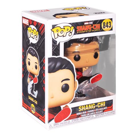 Фигурка Funko POP! Bobble Marvel Shang-Chi Shang-Chi (Kick) 52874 (55183)
