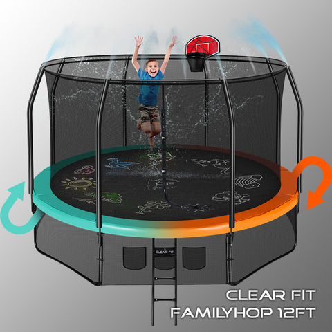 Clear Fit FamilyHop 12Ft