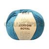 Пряжа Fibranatura Cotton Royal 18-721 (Морская волна)
