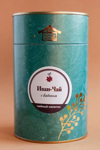 Иван-чай с баданом в тубе 50г