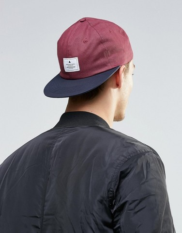 Black - red Baseball Cap