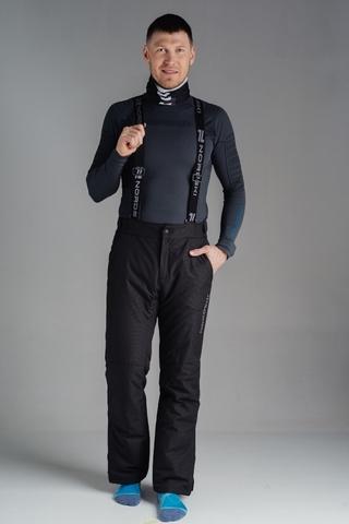 Утепленные брюки Nordski Mount Black мужские