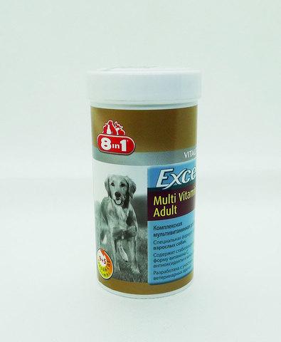 Excel Multi Vitamin Adult 8in1 Мультивитамины для взрослых собак 70таб