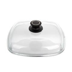Крышка стеклянная квадратная 26x26 см AMT Glass Lids арт. AMTE26 AMT