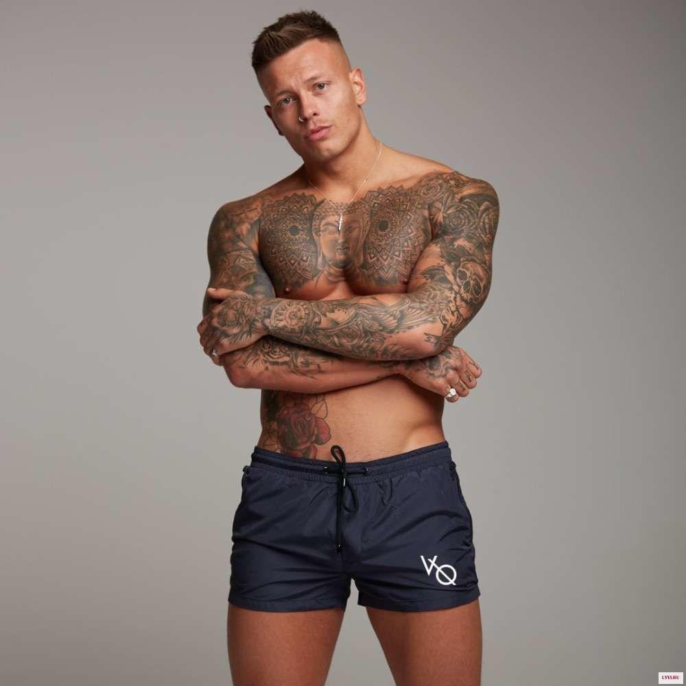 Мужские шорты темно-синие Vanquish