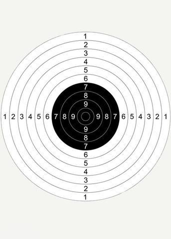 Мишень для пристрелки №4