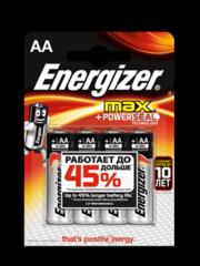 Батарейки Energizer MAX AA (LR6)