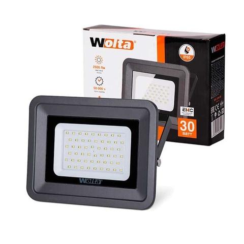 Прожектор светодиодный WOLTA WFL-30W/06 5500K 30W IP65