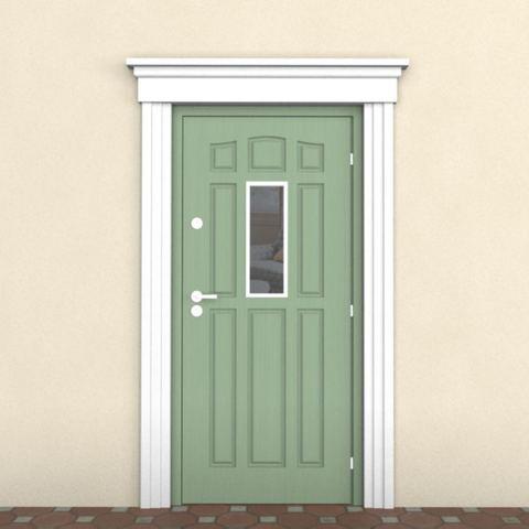 Наличник из пенопласта на дверь