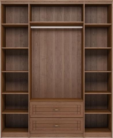 Шкаф для одежды четырехдверный с ящиками Лондон 2 Ижмебель клен торонто