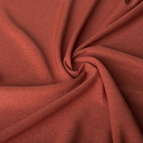 Ткань рогожка Джейн терракотовый