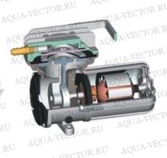 Компрессор BOYU ACQ 910 (12V) поршень