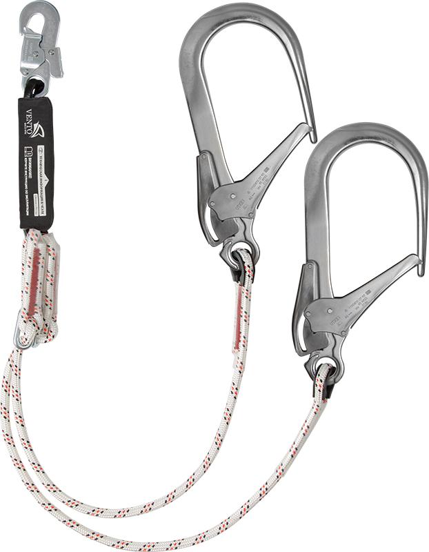 Строп веревочный двойной регулируемый с амортизатором «аВ22р 110»