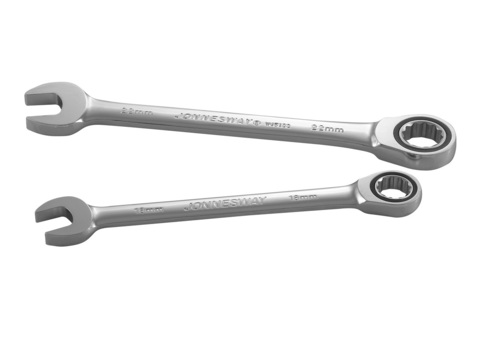 W45136 Ключ гаечный комбинированный трещоточный, 36 мм