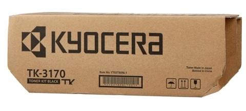 Оригинальный картридж Kyocera TK-3170 1T02T80NL0/1T02T80NL1 черный