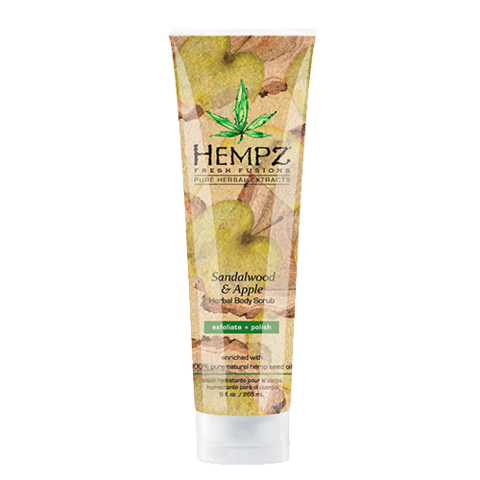Скраб для тела Сандал и Яблоко / Hempz Sandalwood & Apple Hebal Body Scrub