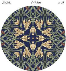 Эскиз для росписи, Круг диаметр-47,5см, SMAR-st-35