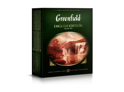 Чай черный Гринфилд English Edition в пакетиках (100 шт)