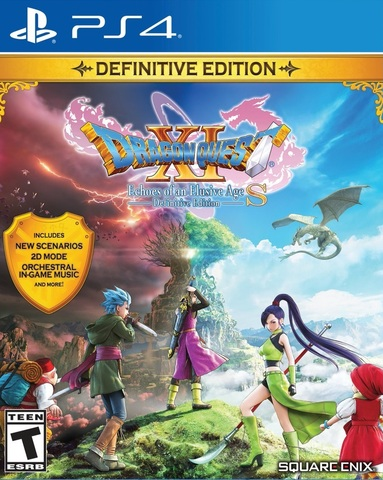 Dragon Quest XI S: Definitive Edition (PS4, русская документация)