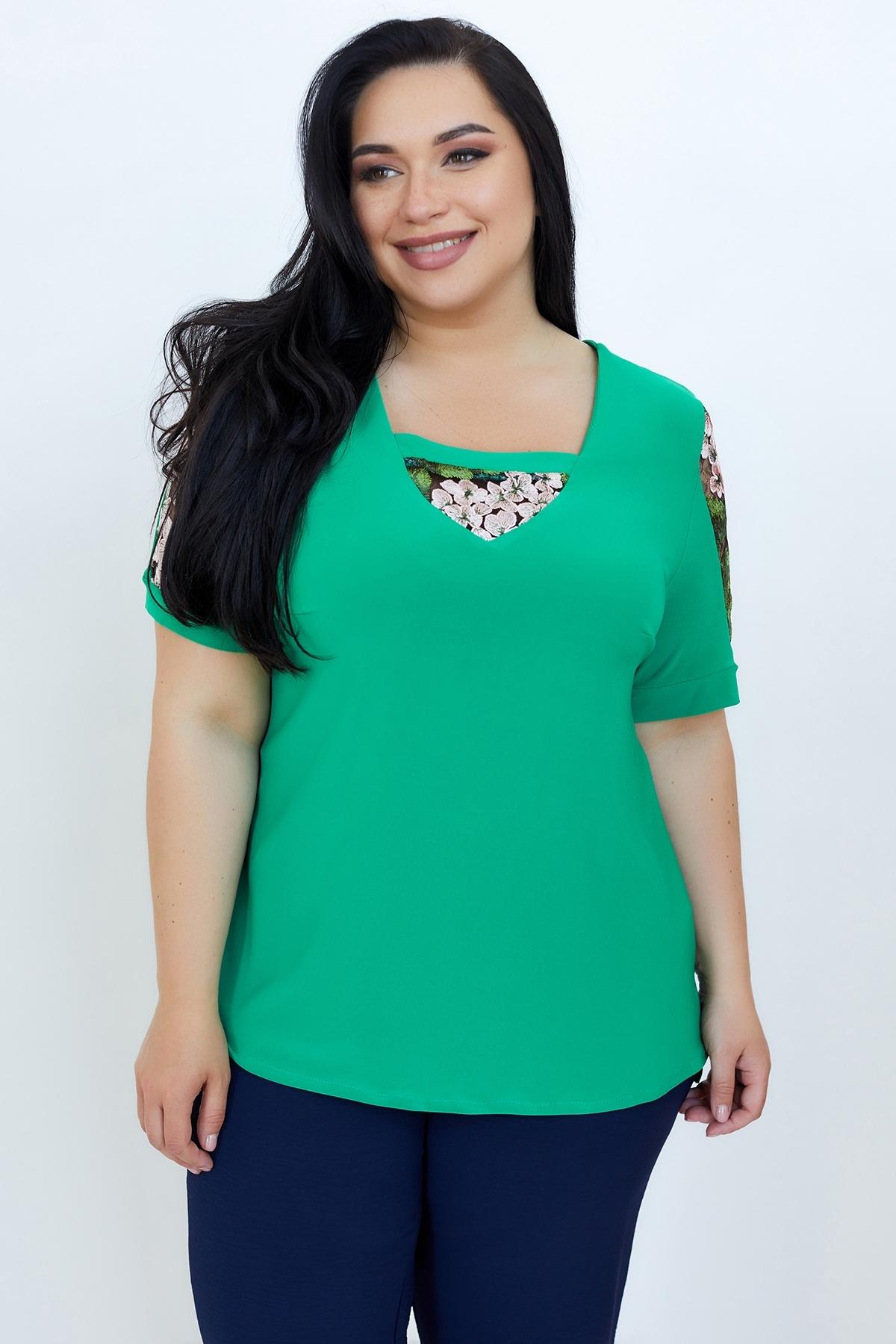 Блуза Дейзі (Дейзи) (зелений)