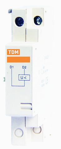 Расцепитель минимального напряжения РМ32 Ue 110В TDM
