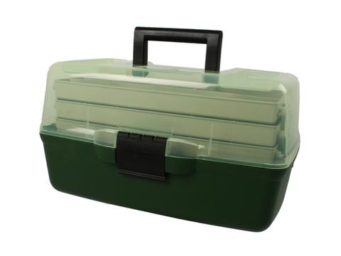 Ящик на  3 полки AQUATECH 1703т с прозрачной крышкой