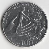 K9625, 1988, Ватикан, 100 лир Иоанн Павел II aUNC (Адам)