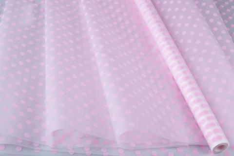 Пленка матовая Бисер 70 см x 10 м, цвет: светло-розовый