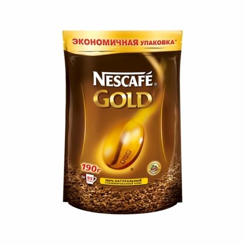 Кофе NESCAFE Gold 190 гр ДП РОССИЯ