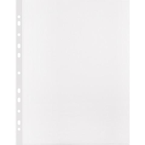 Файл-вкладыш Attache Selection А4+ 100 мкм прозрачный рифленый 50 штук в упаковке
