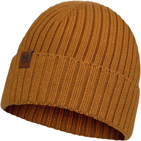 Вязаная шапка Buff Hat Knitted  N-Helle Mustard фото 2