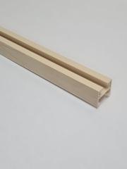 Верхняя направляющая для двери-гармошка, длина 260 см, цвет Дуб светлый