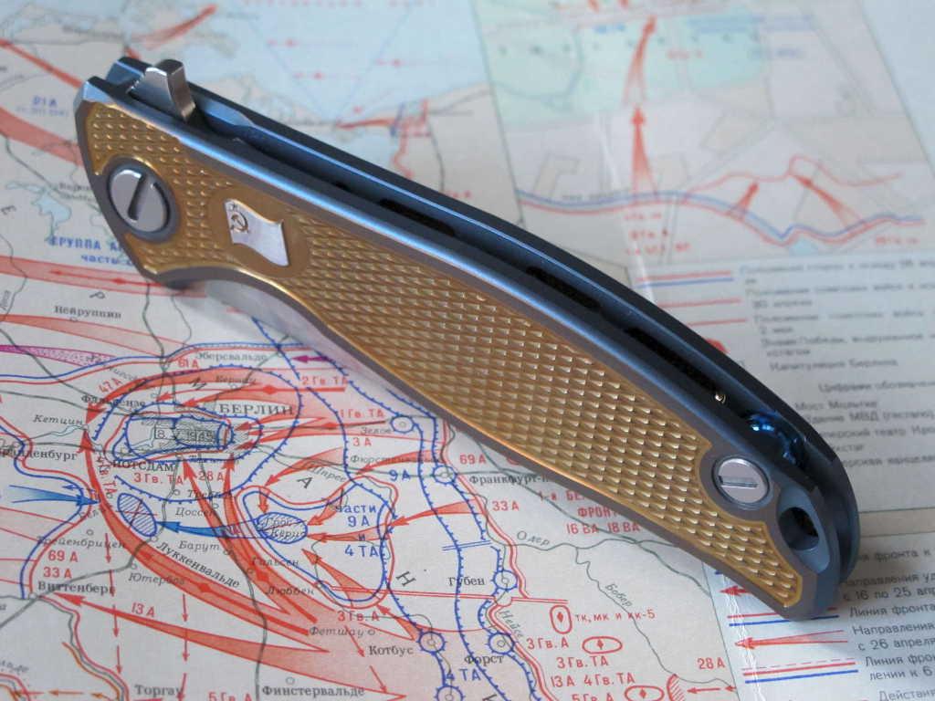 Нож Широгоров Знамя Победы Кастом S30V - фотография