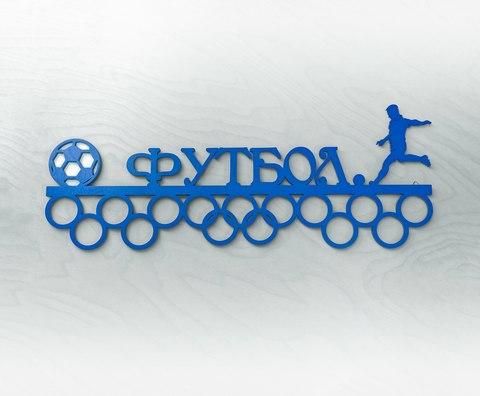 Медальница ДекорКоми из дерева Футбол